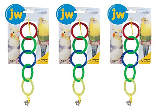 Activitoys Olympic Rings Bird Toy [Set of 3]