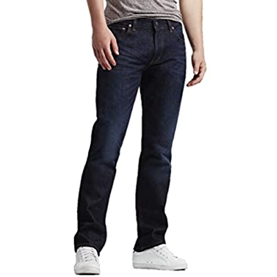 Aeropostale Mens Straight Dark Wash Jeans for cheap
