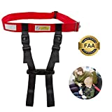 Toddler Child Airplane Travel Safety Harness Approved by FAA, Clip Strap Restraint System with Safe Airplane Cares Restraining Fly Travel Plane for Toddler Kids Child Infant