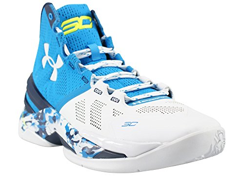 Navy White Midnight Men's Armour Blue Under Basketball Electric 2 Curry FTU0Zn8x