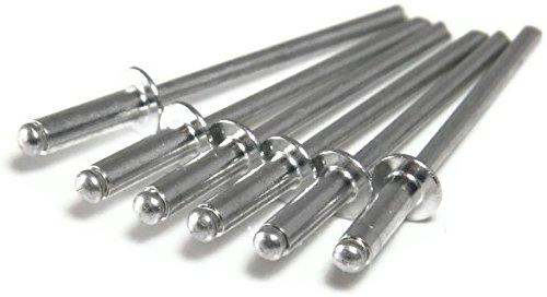 Aluminum Pop Rivets 3/16 x 1/4 (.188 - .250) Grip - #6-4 QTY 1000