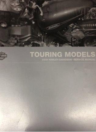 2009 Harley Davidson TOURING MODELS Service Shop Manual Set W PARTS & ELECTRICAL
