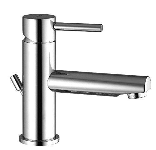 Miscelatore Rubinetto lavabo bocca lunga con scarico 1 1/4' Decò Framo per Bagno Cromo FRA.MO