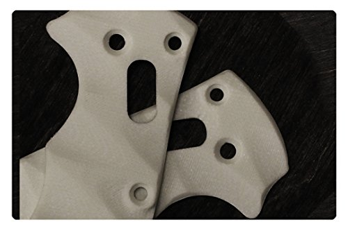 White G10 Scales for Spyderco Manix 2
