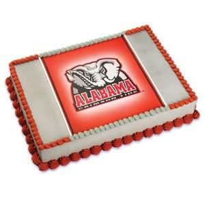Amazon Com Ncaa University Of Alabama Edible Cake Image
