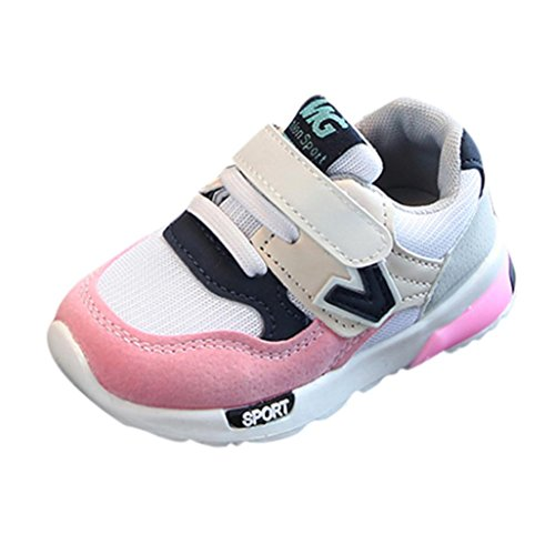 53f9afdaf70a WOCACHI Baby Girls Shoes Toddler Baby Boys Children Casual Sneakers Mesh  Soft Running Letter Shoes Pink