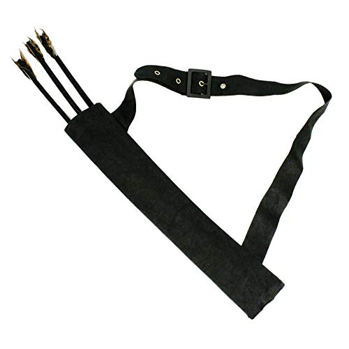 Quiver and Arrow Set Costume Accessory (One Size) Black