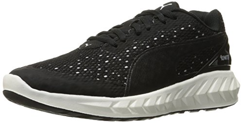 PUMA Black Women's Ignite Puma Puma Shoe Running WN's Layered White Ultimate UUrw6qA8