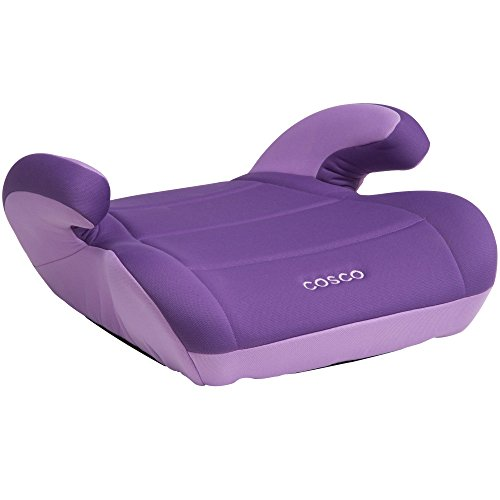 Cosco Topside Booster Car Seat - Easy to Move, Lightweight Design (Grape)