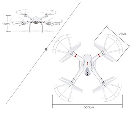 Amazon Com Mjx X101 2 4 Ghz Rc Drone 6 Axis Gyro Supper Large