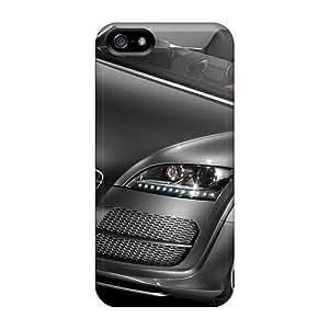 XiFu*MeiIphone 5/5s Audi Tt Concept Print High Quality Tpu Gel Frame Case CoverXiFu*Mei