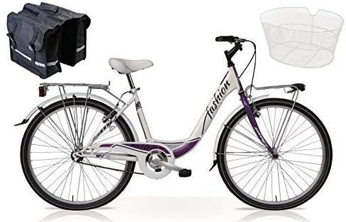 """Speedcross Bicicleta 26″ Mujer """"Fashion"""" Senza Cambio + Cesta y ..."""