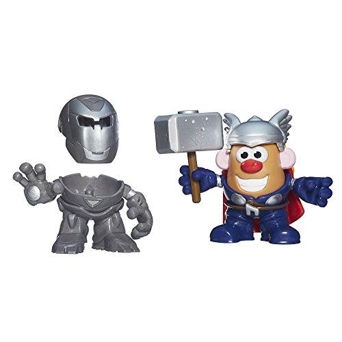 Playskool Mr. Potato Head Mixable, Mashable Heroes Iron Man and Thor