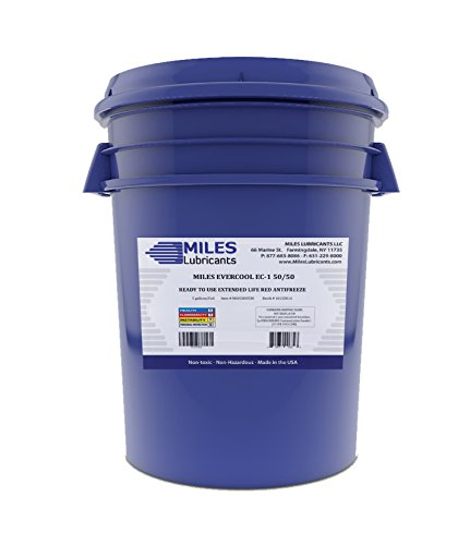 Miles Evercool Ec1 50/50 Ready To Use Extended Life Red Antifreeze 5 Gallon Pail by MILES LUBRICANTS