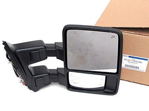 Telescoping Trailer Tow Mirror (13-15 Ford F250 F350 F450 F550 Passenger Trailer Tow Mirror Telescoping OEM NEW DC3Z-17682-MA)