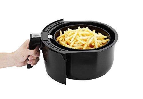 -[ NETTA Healthier Oil Free Airfryer - Black  ]-
