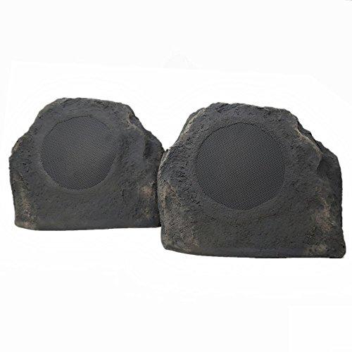 """TIC TFS5-SL 6.5"""" Outdoor Weather-Resistant Rock Speakers (Pair) - Slate"""