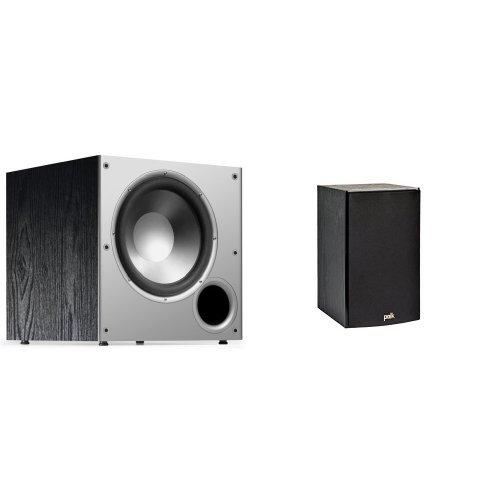 Polk-Audio-T15-Bookshelf-Speakers-Pair-Black