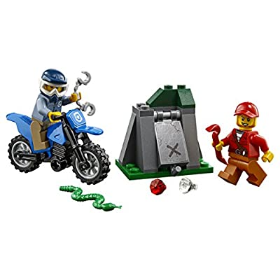 LEGO City Police City Police Bundle Building Kit (125 Pieces): Toys & Games