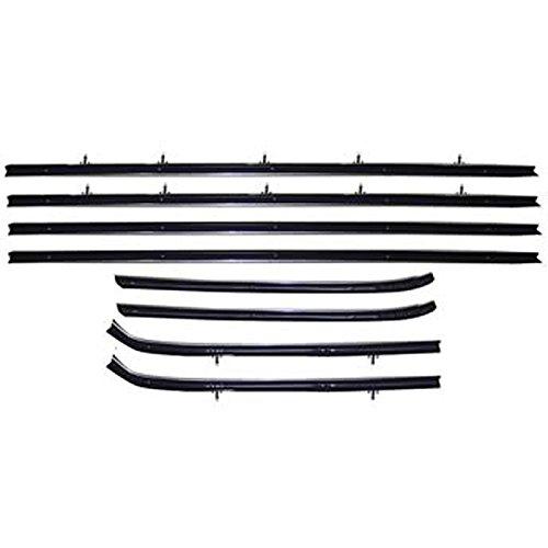 Sedan Weatherstrip Kit (Eckler's Premier Quality Products 85291861 Nova Window Felt Kit 2Door Sedan)