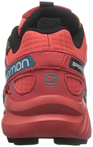Black Jay Coral Orange Punch Jay Trail Salomon L39183600 Black Punch Berry Shoes Running Coral Blue Women's Blue 0q6wTP
