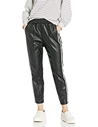 Women's First Place Vegan Leather Jogger