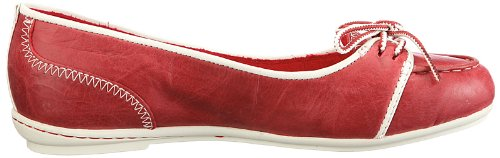 Rouge Ballerines femme BOATBLRNA BELLE 141 ISLND Timberland rouge 26681 b1 Tr qpYxI