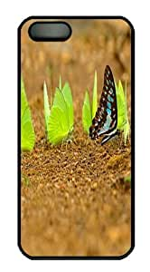 Butterfly close up Polycarbonate Hard Case Cover for iPhone 5/5S Black
