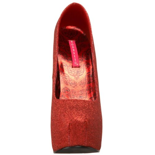 Glitter Teeze Donne Bordello Rosso Da Delle 31g Pleaser Pompa F5fFUIWRq