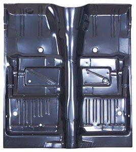 Barracuda Floor (Auto Metal Direct 400-1267 Steel Floor Pan - Full 1967-69 Barracuda)