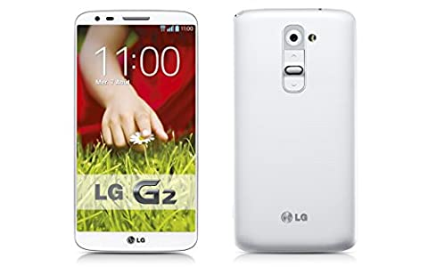 LG G2 D802 4G LTE 16GB Unlocked GSM Quad-Core Android Smartphone - White - International Version No (Cdma Galaxy S4 Bezel)
