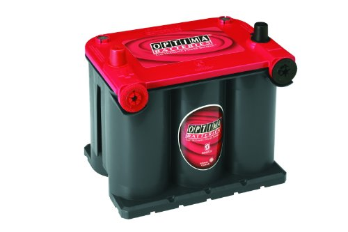 Firebird Hood Panel - Optima Batteries 8022-091 75/25 RedTop Starting Battery