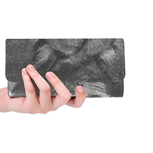 Wolf Trifold Wallet Long...