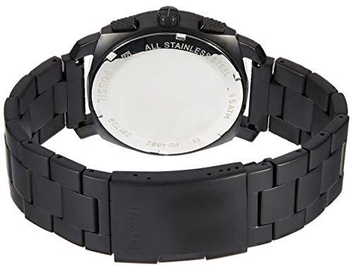 Fossil Herren Chronograph Quarz Uhr mit Edelstahl Armband FS4682 2