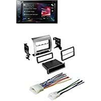 Toyota Tacoma Double Din Stereo Radio Installation Dash Mount Kit W/ Harness +Pioneer Double 2 Din AVH-290BT DVD/MP3/CD Player 6.2 Touchscreen Bluetooth