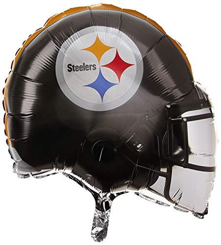 - Anagram 26286 NFL Pittsburgh Steelers Football Helmet Foil Balloon, 21