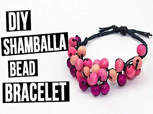 (Do It Yourself Handmade Shamballa Bead Bracelet)