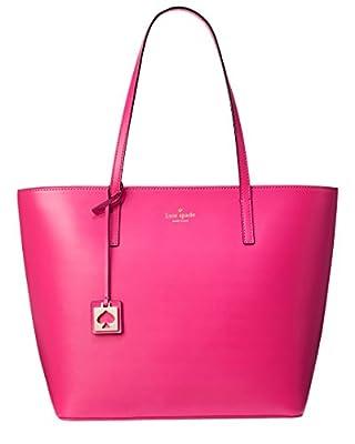 Kate Spade Haven Street Maxi Smooth Leather Tote Shoulder Bag Purse Handbag