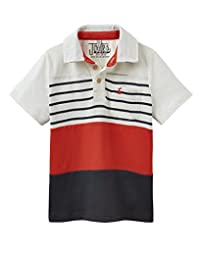 Joules Boys Jersey Polo Shirt - Red