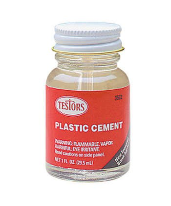 (Testors Plastic Cement Liquid 1 Oz )