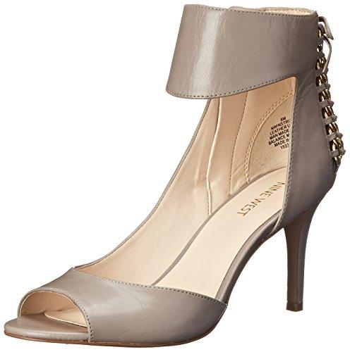 Image of Nine West Women's Instruct Leather Heeled Sandal