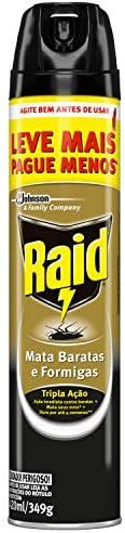 Inseticida Raid Mata Baratas e Formigas Spray Leve Mais Pague Menos 420ml
