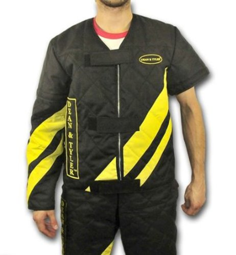 Dean and Tyler Scratch Suit, Neoprene Nylon - Black/Yellow - Size: Large (J: 42-Inch, P: 36-Inch) by Dean & Tyler (Image #2)