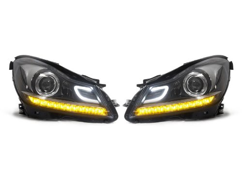 2012-2014-mercedes-benz-w204-c-class-c63-amg-style-projector-led-headlights-new-pair-c300-c350-for-h