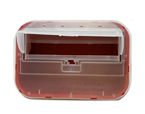 One Gallon Sharps Containers with Pop up Lid (Two Pack) by OakRidge Products (Image #2)