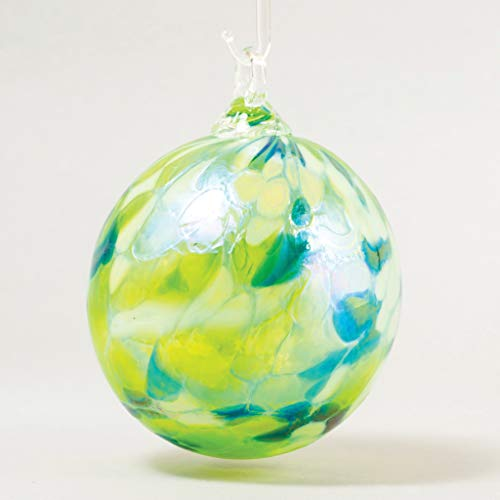 Glass Eye Studio Classic Ball Ornament Spring Mum