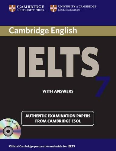 Cambridge IELTS 7 Self-study Pack (Student's Book with Answers and Audio CDs (2)): Examination Papers from University of Cambridge ESOL Examinations (IELTS Practice Tests) by Cambridge English