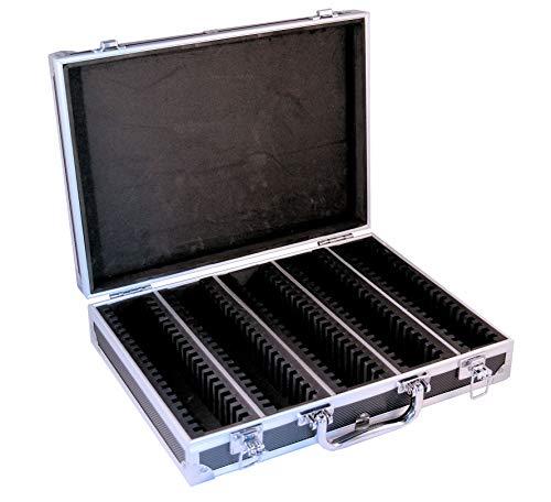 Ursae Minoris Elite Black Aluminum Box for 100 Capsule (Large or XL) or 2 x 2 Coin Holders