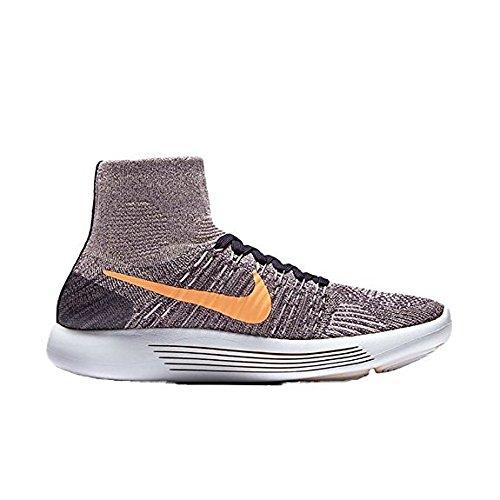 Nike Womens Lunarepic Flyknit Scarpe Da Corsa Dinastia Viola Mango Brillante 502