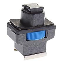 Buy Mini Hot Shoe Adapter for Sony Camcorder LED Light (Blue)